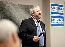 Photo of Mike McGinn copyright by Jeff Romeo